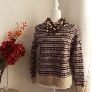 J.CREW Women's Sweater Crew Neck Size L